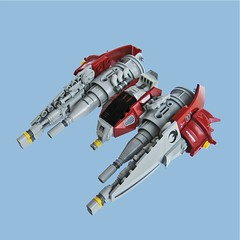Mifune S3 Fighter (Fredoichi) Tags: fighter lego space shooter shootemup starfighter shmup fredoichi