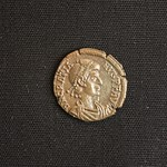 "<b>393 Obverse</b><br/> <a href=""http://en.wikipedia.org/wiki/Gratian"" rel=""nofollow""><u><b>Gratian</b></u></a> <i>Reign: AD375 - 383</i> Gratian was another son of the emperor Valentinian I, and ruled with his half-brother Valentinian II until his death. He much favored Christianity over the Roman religion, refusing to accept pagan titles and even going as far as tearing down a pagan altar at the Roman Senate. Although his early reign was a success, he earned contempt from his soldiers by associating with Alans, a Sarmatian tribe from Asia, and addressing the people in Sarmatian dress. His soldiers would later abandon him, leading to his death in 383.  Donated by Dr. Orlando ""Pip"" Qualley<a href=""http://farm5.static.flickr.com/4057/4352108420_3046149faf_o.jpg"" title=""High res"">∝</a>"
