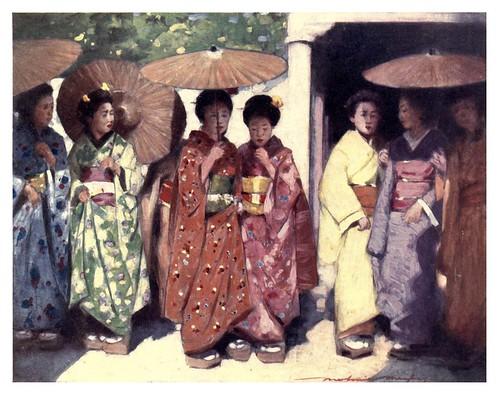 010-Hijas del sol-Japan  a record in color-1904- Mortimer Menpes