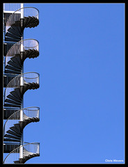 Stairway to Heaven (Chris Wevers) Tags: arnhem panasonic dmc fz50 chriswevers