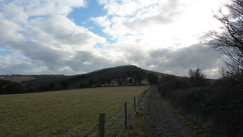 Heading towards Old Winchester Hill