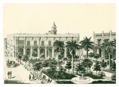 007- La Habana-Plaza de Armas-Álbum pintoresco de la Isla de Cuba- 1853