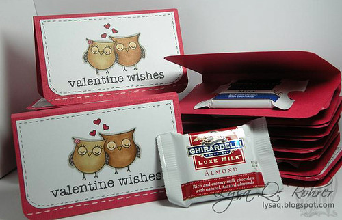 Valentine Owls treats