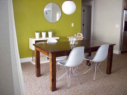 new dining chairs by A Merry Mishap blog.