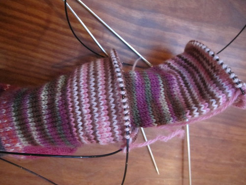 Sock barfing I