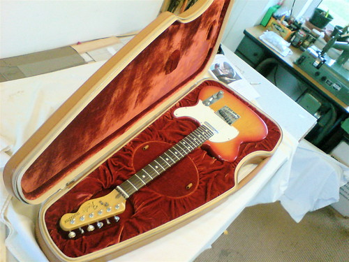 Calder custom tele case