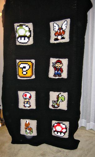 Mario Bros. Blanket