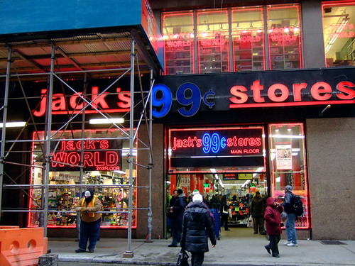 Jacks 99 Cent Store To Duane Reade Our Sushi Is Cheaper Than Your