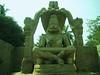 593. Hampi (11) Narasimha Moorthy (profmpc) Tags: temple stonecarving idol hm hampi mutilation narasimha vijayangara krishnadevarayar
