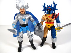 Paladin & Fighter (WEBmikey) Tags: toys dandd