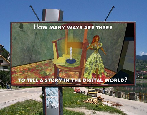 How many ways are there to tell a story in the digital world?