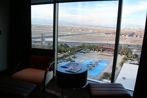 M Resort Room - View, Looking at Pool
