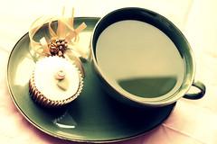 Tea Time (lovelikenew) Tags: tea cupcake lovelikenew