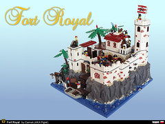 LEGO Pirates fortress