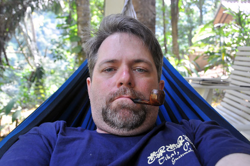 Me in a Hammock in Belize