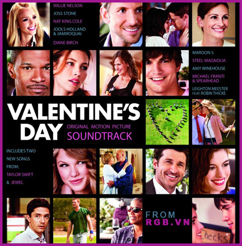 [OST] Valentine's Day OST - 2010|18 Track| 81 MB