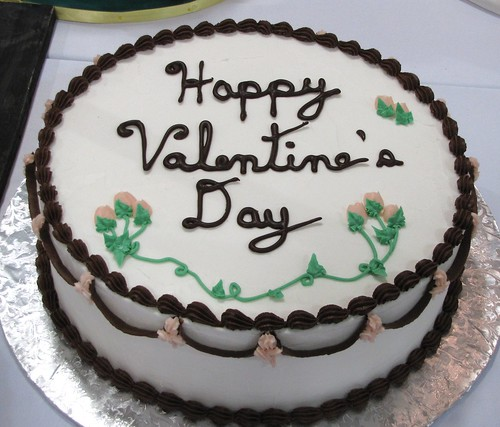 Valentine's Day Cake by Dana Gorman