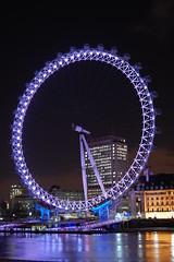 London Eye (SlightlyBlurred) Tags: london londoneye londonnight