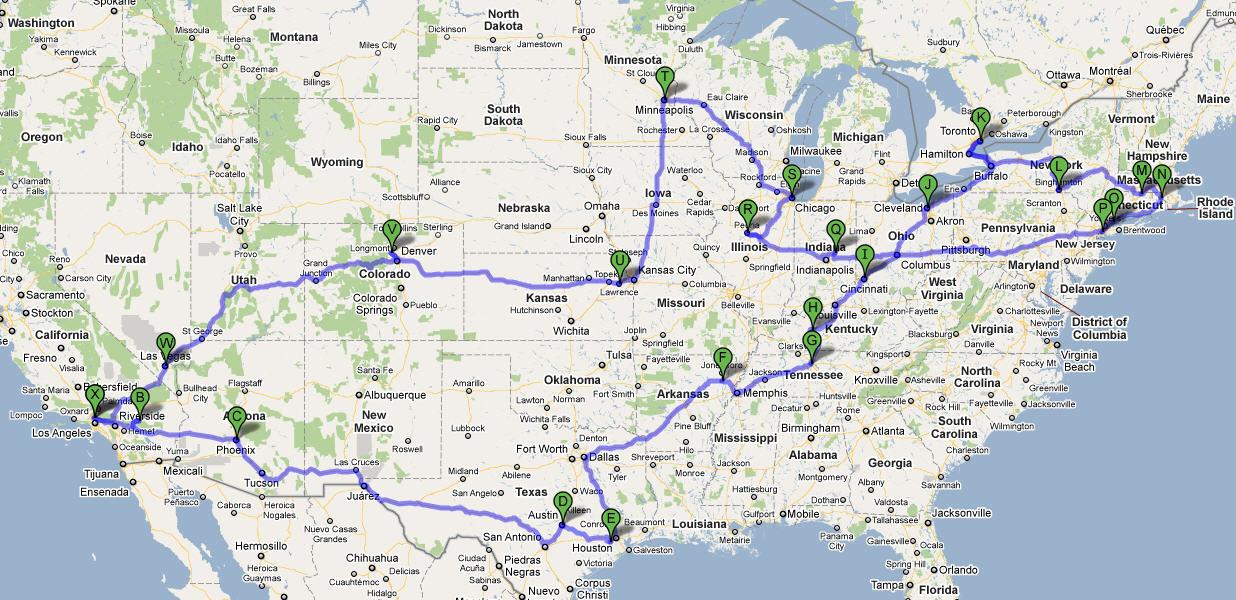 MH march trip