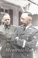 Heirich Himmler (Arrabiata!) Tags: photomanipulation germany 1930s uniform thirdreich ss 1940s colorized nazigermany nsdap heirichhimmler reichfuhrer