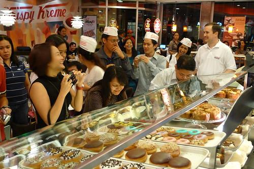 Krispy Kreme food bloggers