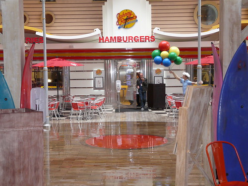 Johnny Rockets On Oasis Of The Seas Boardwalk