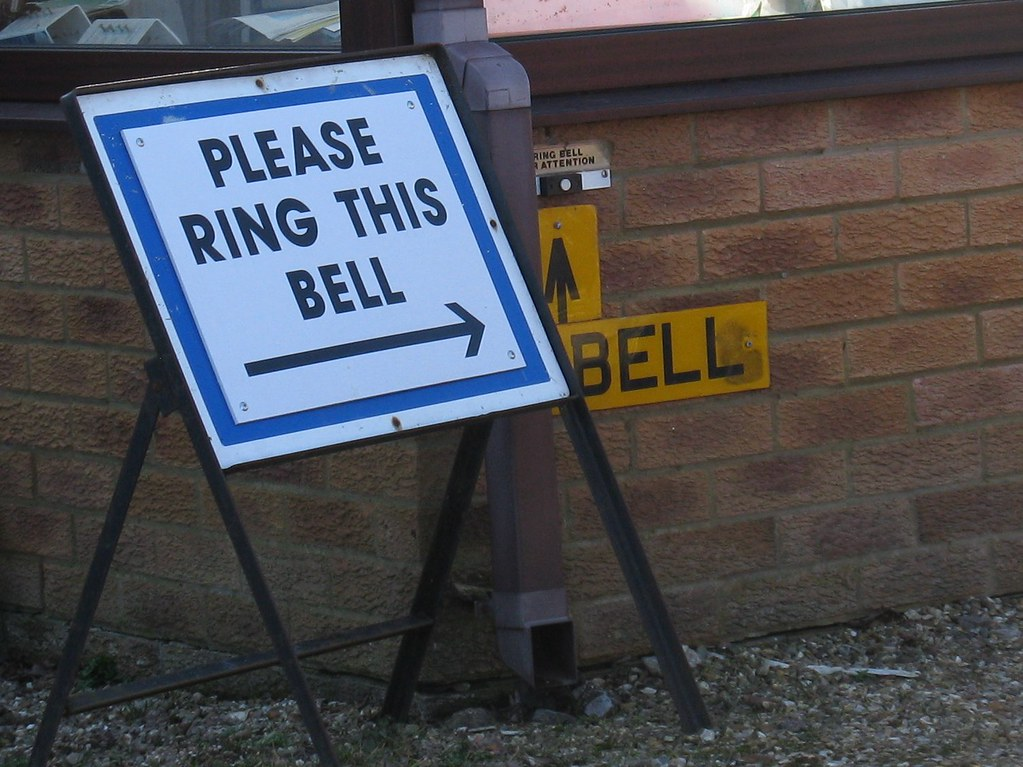 Please ring this bell