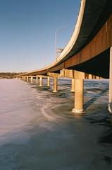 Bridge Over Troubled Waters (Dizzy Rockwell) Tags: nikon f55