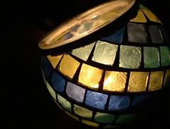 05-31-2008 (Desrouvier) Tags: blue light green yellow candle mosaic mosai