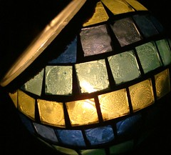 05-31-2008 (1) (Desrouvier) Tags: blue light green yellow candle mosaic mosai