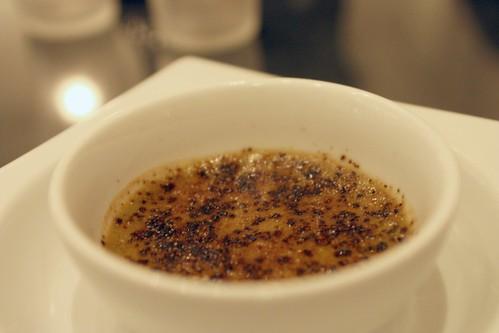 Sicilian Pistachio Creme Brulee