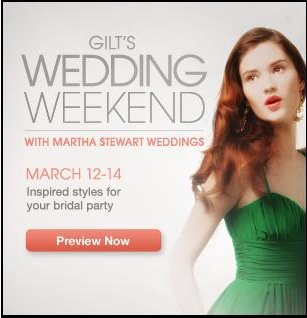 Gilt + Martha Stewart Weddings