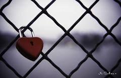 My love (N.Calzas) Tags: paris love canon geotagged heart lock argentique cadena pontdesarts pellicule calzas