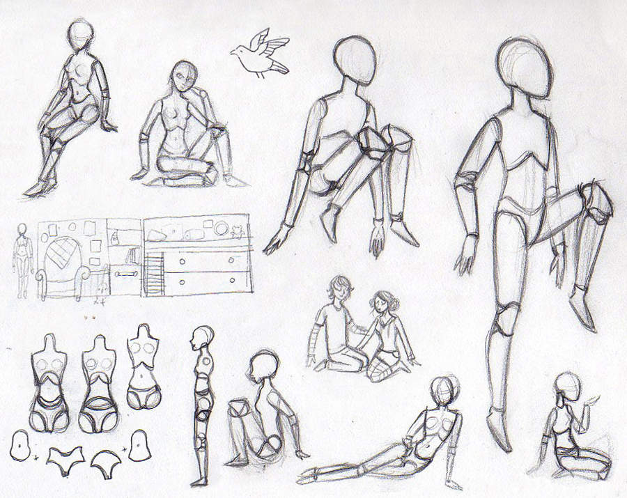 Doll Doodles