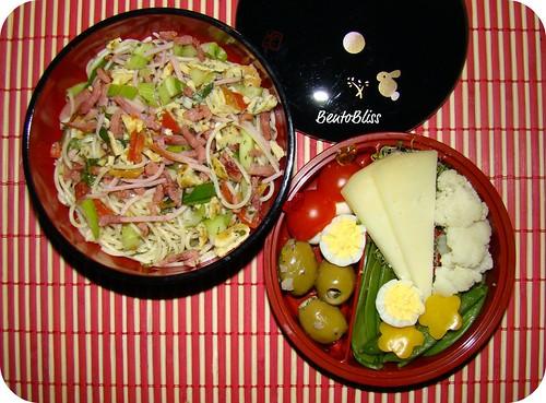 Pasta salad bento #1 - 11.03.2010