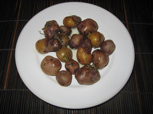 Anden Potatoes with Rosemary and Olive Oil