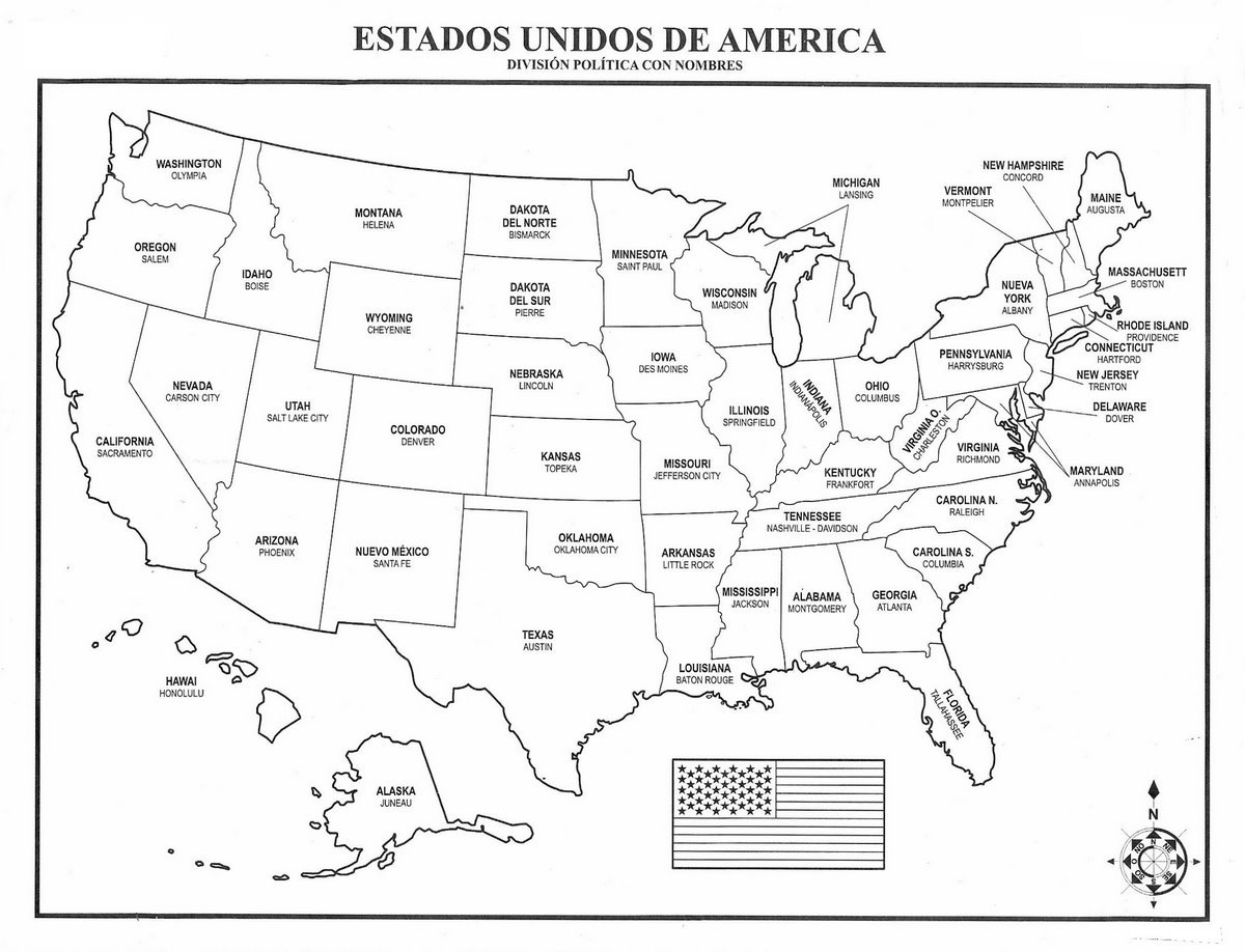 Norteamerica+mapa
