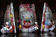 My swarovski 3-D hello kitty iPhone 3gs case! (Alexsis Tanya) Tags: hello apple wisconsin asian nikon ebay heart hellokitty bow milwaukee swarovski 3gs iphone d40 nikond40 iphone3gs
