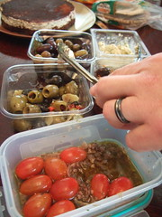 Olives and Tomatoes