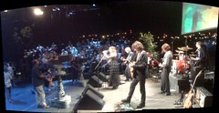 Panorama as the band takes the stage at Austin City Limits