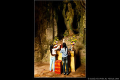 In a Cave up the Marble Mountain (2stanley) Tags: old mountain heritage history town ancient asia southeastasia vietnamese folk buddha traditional folklore tourist vietnam hoian wharf cave marble museums cultural customs marblemountain earthasia eyesonasia 2stanley