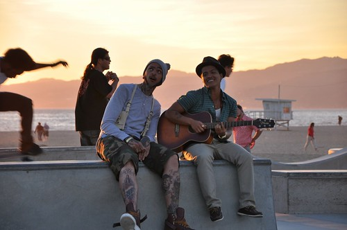 Travis McCoy Music Video Venice Beach