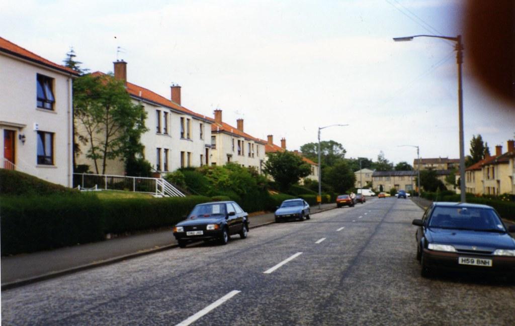 Warrieston Street Carntyen (Ruchazie Road End ) 1994