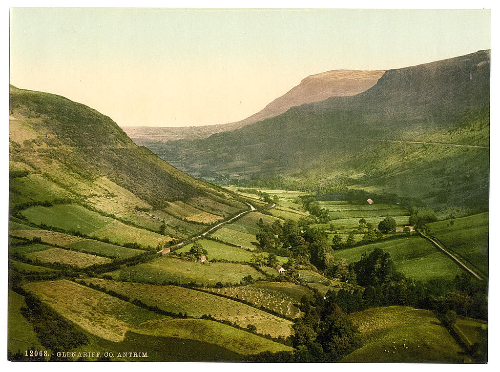 Glenariff. County Antrim, Ireland