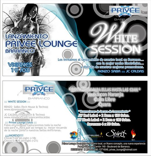 White Session - Privee Lounge Club