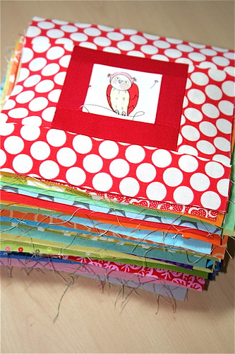Paintbox Quilt along blocks finished