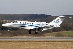 9A-DWA - 525A-0412 - WinAir - Cessna 525A Citation CJ2 Plus - Luton - 100316 - Steven Gray - IMG_8556