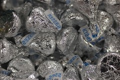(bvsciguy) Tags: macro silver candy sweet kisses hersheys
