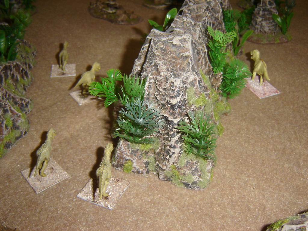 Carnosaur pack rushes towards American survivors