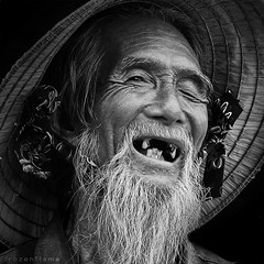 Old Fisherman (Frozen Flame | fzflame.com) Tags: vietnam getty gettyimages earthasia gettyimagessoutheastasiaq2